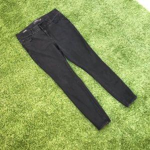torrid bombshell skinny black jeans size 14 R